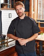 Essential Short Sleeve Chefs Jacket